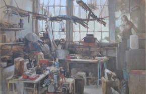 Atelier de sculpture - La Rochette