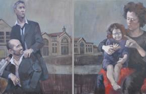 Portraits - Le diptyque de Melun revisité